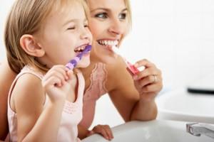 lavare denti bambini